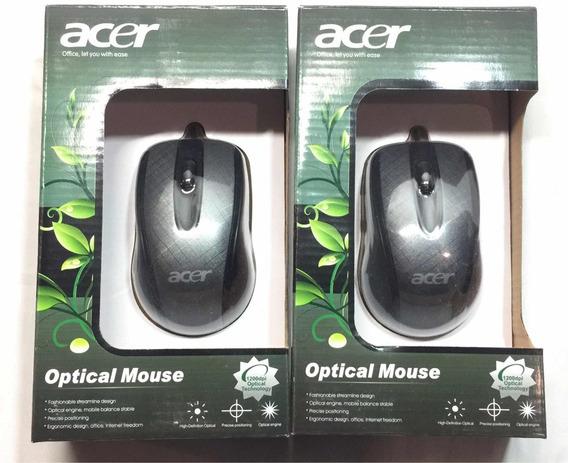 Mouse Acer, Óptico 1200dpi, Conexión Cable Usb, Tamaño Norma