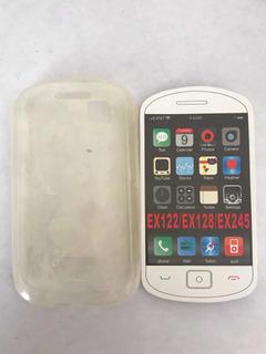 Protector De Plástico Para Motorola Ex122/ex128/ex245
