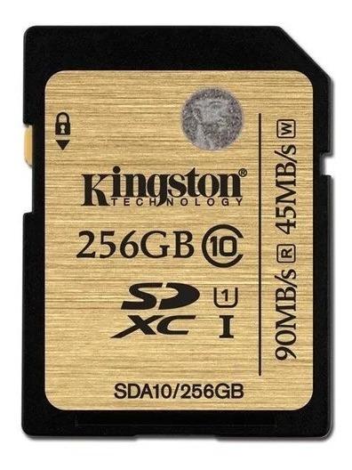Cartão De Memória Sd Kingston 256gb - Frete Grátis !