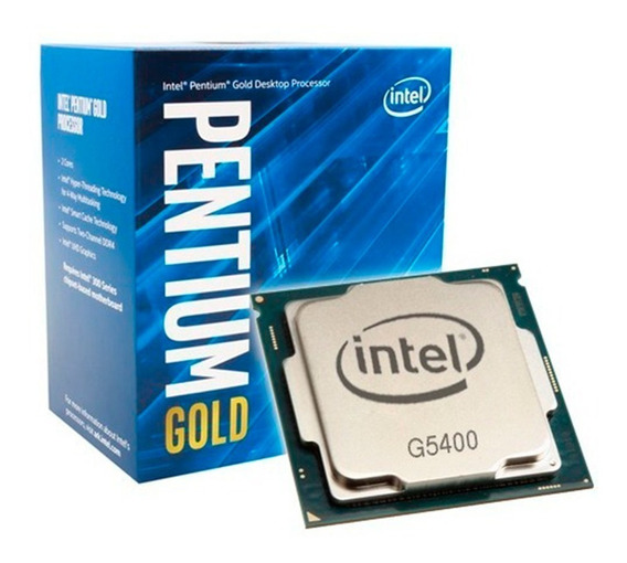 Procesador Intel Pentium Gold G5400 3.7ghz Coffeelake 6cts