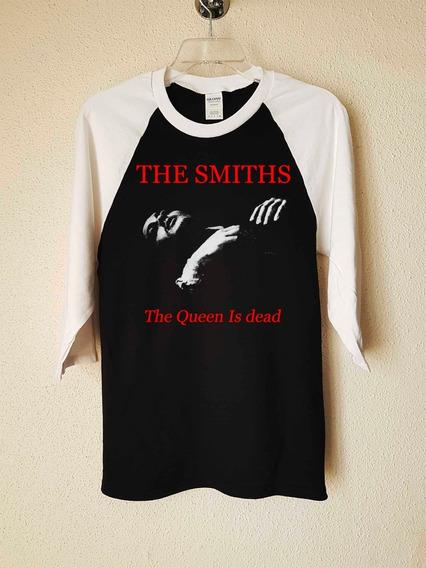 The Smiths The Queen Is Dead Polera 3/4 Pop Abominatron