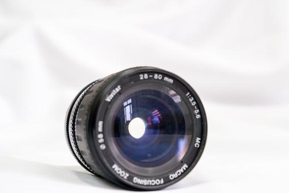 Lente Vivitar Ai-s 28-80 Mm F/3.5-5.6 Mc Para Nikon
