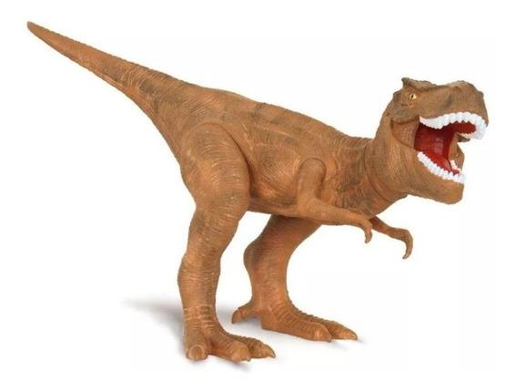 Brinquedo Dinossauro Tiranossauro Dino Worlds Cotiplas