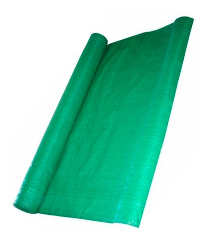 Tela Cerco Rafia Verde 1.85mt Ancho *mt Lineal