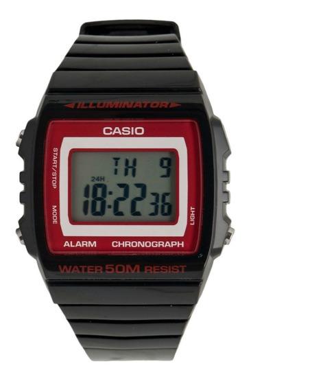Relógio Casio Unissex W-215h-1a2vdf Chrono Wr 50m