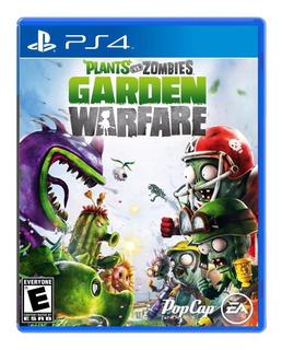 Plants Vs Zombies Garden Warfare / Juego Físico / Ps4