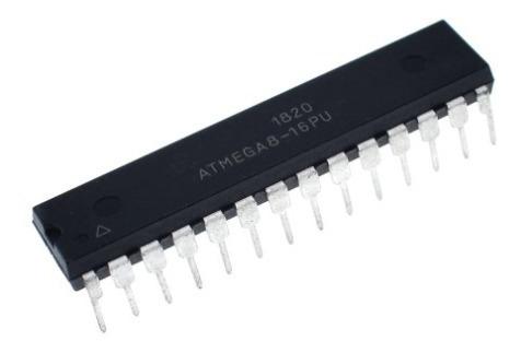 2 Unidades Microcontrolador Atmega8 Dip