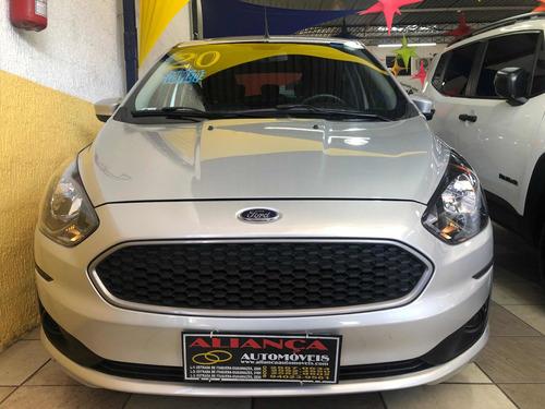 Ford Ka 1.0 Se Flex 5p - 2020 - Prata