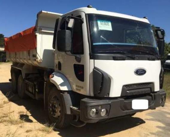 Ford Cargo 2629 Traçado Caçamba 12m3 - Favor Ler Descrição