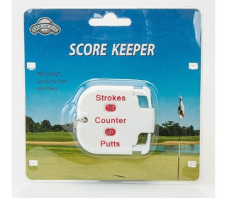 Contador De Strokes Score Keeper J & M Golf - Easy Golf