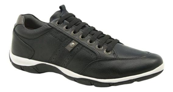 Sapatenis Sapato Ferricelli Zr42530 Elastico Confortável