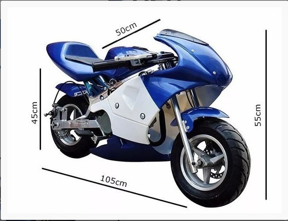 Mini Moto Gp Ninja 49cc Usada , Em Ótimo Estado