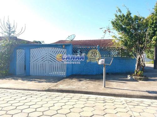 Casa Com 3 Dorms, Balneário Plataforma, Mongaguá - R$ 250 Mil, Cod: 1316 - V1316