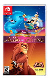 Disney Classic Games: Aladdin The Lion King Nintendo Switch