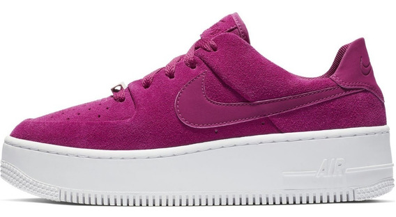 Zapatillas Nike Air Force 1 Sage Low True Berry -mujer