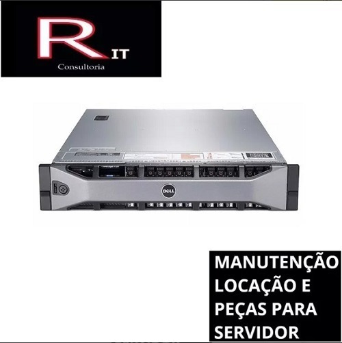 Servidor Dell R710 - 32gb De Ram - 2 Proc Sixcore
