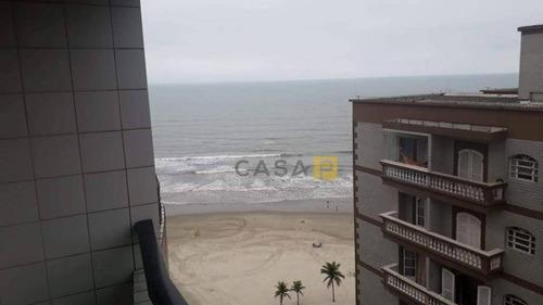 Apartamento Com 1 Dormitório À Venda, 50 M² Por R$ 215.000,00 - Ocian - Praia Grande/sp - Ap0755