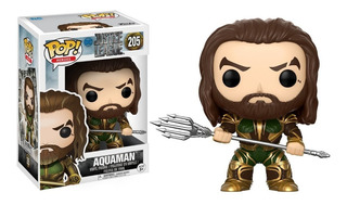 Funko Pop Aquaman #205 Justice League Dc Jugueterialeon