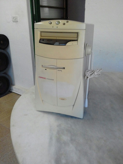 Computador Antigo Compaq Presario 4550 Funcionando