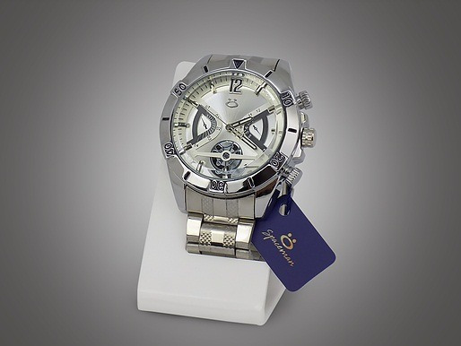 Relógio Masculino Spaceman Silver