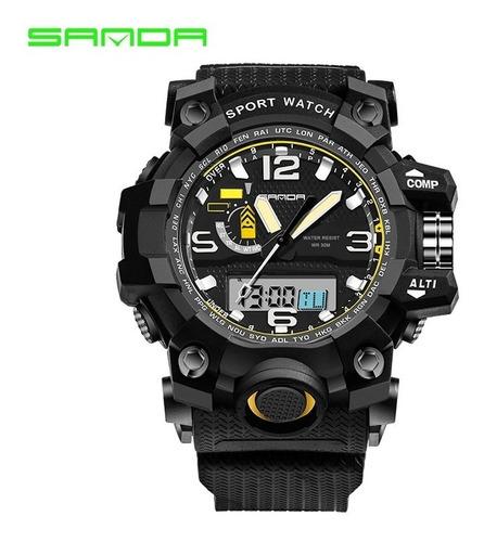 Relógio Masculino Digital Aprova D'água Academia Sport Sanda