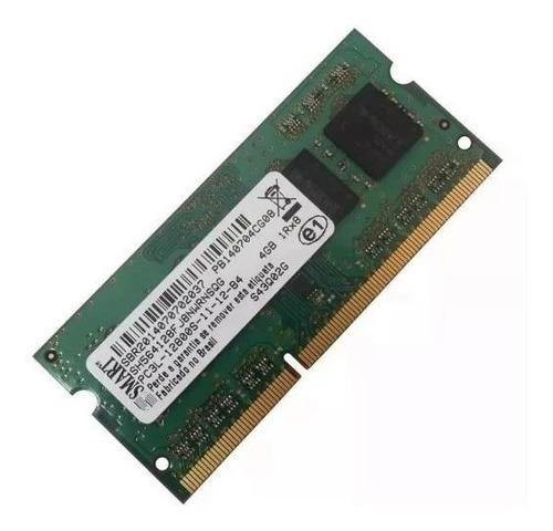 Memoria Smart 4gb Ddr3  Pc3l-12800s  P/ Notebook - Nova