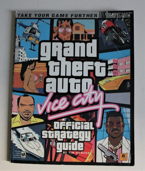 Guia Oficial Bradygame Strategy Guide Gta Vice City Coleção