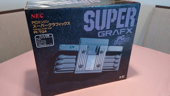 Pc Engine Super Grafx Completo! Raro! Em Excelente Estado!