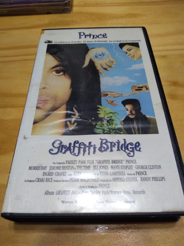 Graffiti Bridge - Prince - Warner, 1990 - Vhs - U