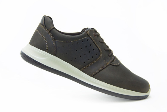 Flexi Caballero Tenis Casuales 401501 Chocolate Originales