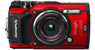 Olympus 12 Tg-5 Impermeable Con 7,6 Cm Lcd, Rojo