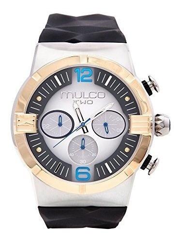 Reloj Mulco Movimiento Suizo Cronografo Nuevo Original