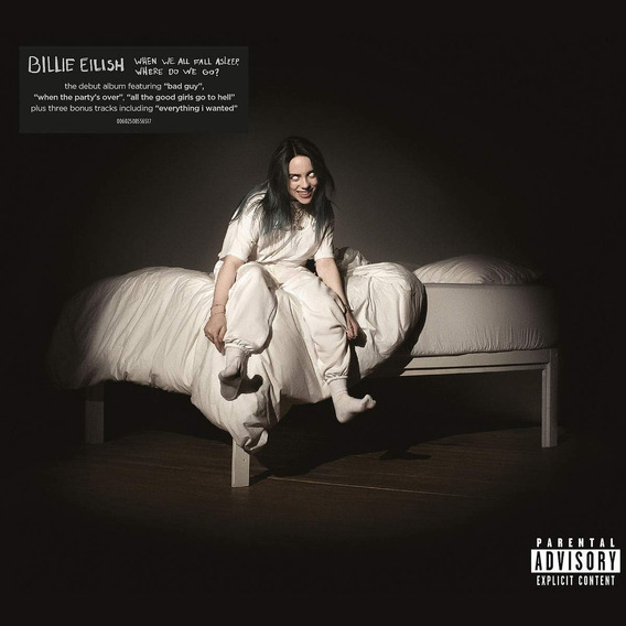 Billie Eilish When We All Fall Asleep Deluxe Cd 3 Bonus Nuev