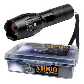 Lanterna Tática Militar Martinelli 1000 T6 + Potente + Estoj