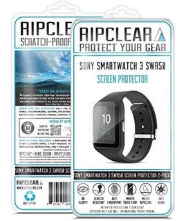 Kit De Protector De Pantalla Ripclear Sony Smartwatch 3 Swr5
