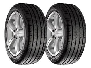 Paquete De 2 Llantas 195/55 R15 Pirelli P7 Cinturato 85h