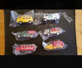 6 Camiones Coca-cola Colección Antiguos