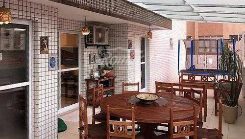 Imagem 1 de 21 de Apartamento Com 3 Dorms, Campo Grande, Santos - R$ 850 Mil, Cod: 243 - V243