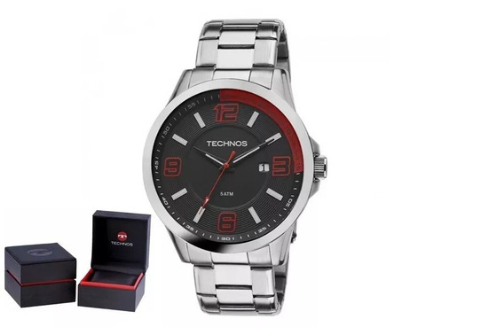 Relógio Technos Masculino 2115klm/1r + Garantia