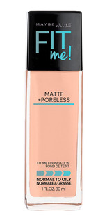 Base De Maquillaje Piel Mixta/grasa Fit Me Matte Maybelline