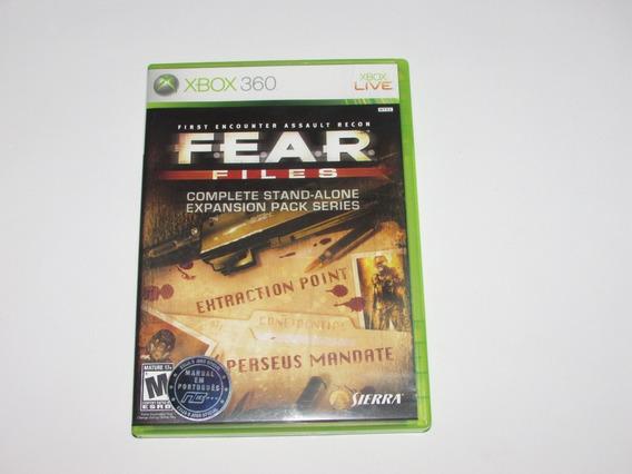 Fear Files Original Xbox 360