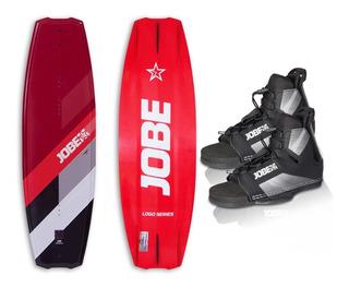 Tabla De Wakeboard Jobe Logo C/ Botas