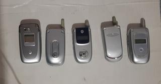 Celulares Motorola Raros Nokia LG Sony Samsung Motorola