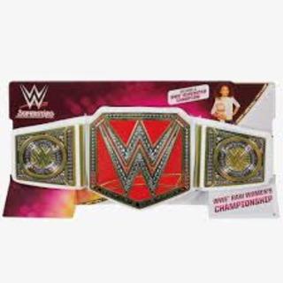 Wwe Cinturon - Women Raw Championship - Original Mattel