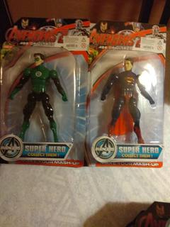 Muñecos Superheroes Articulados Con Luz.cada Uno.