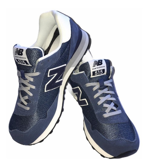Tenis Masculino New Balance 515 Azul Ml515csb Original + Nf