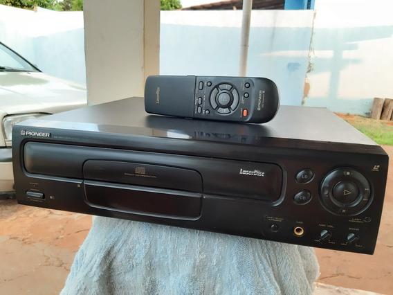 Laserdisc Pioneer Cld-s370 Hi-fi Com Controle!