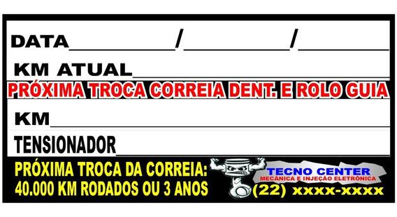 100 Adesivos Para Troca De Correia Dentada
