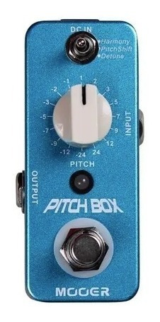 Pedal Mooer Pitch Box Harmony/pitch Shifting + Nf