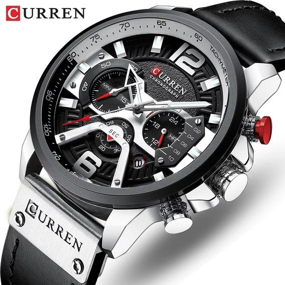 Relógio Importado Masculino Original Curren. Modelo: 8329.